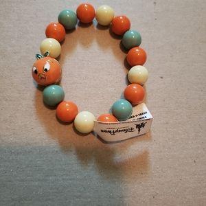 Disney parks orange bird bracelet